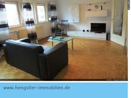 Voll möblierte u. ausgestattete 3-Zimmer-Wohnung in S-West, Pauschalmiete
