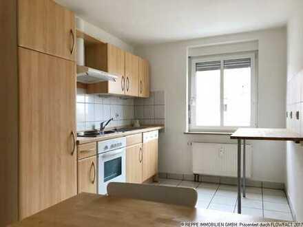 2-Raum Dachgeschosswohnung mit Einbauküche
