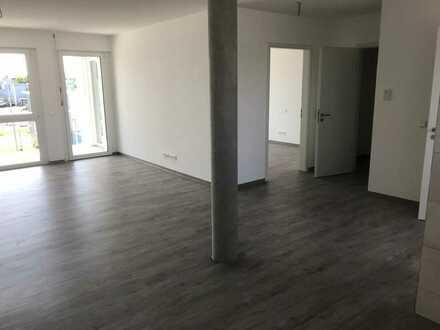 Erstbezug: exklusive 2-Zimmer-Wohnung mit Loggia in Ötigheim