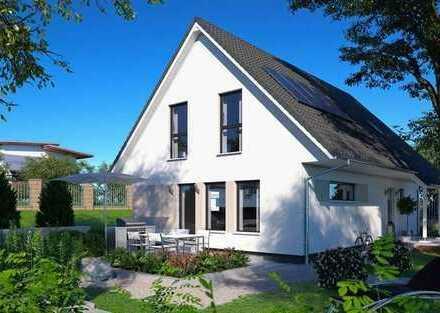 Endlich Zuhause! Ja, hier! 155 m² Wfl. (KfW70) v. ScanHaus - Geplant in Zweedorf - inkl. Grundstück.