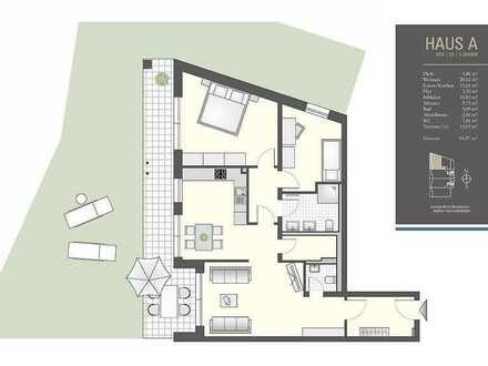 Sie lieben großzügige Terrassen und direkten Gartenzugang? - Haus A/04