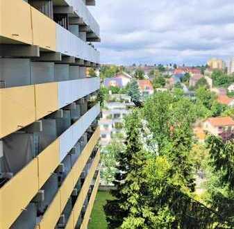 WG-geeignet - 4-Zi.-Whg. ca. 92 m2 und Süd-Balkon in gepflegter Wohnanlage mit Schwimmbad und Sauna