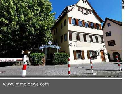 *TOP-RENDITE in TOP-LAGE* Gemütliche Gastrofläche mit Terrasse im Herzen von Schwäbisch Gmünd