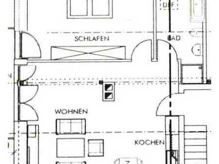 Top DG-Wohnung - ruhig - Blick ins Grüne