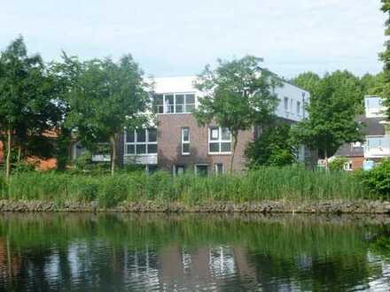 Exklusive Wohnung/Reihenhaus in Lingen direkt am Wasser zu vermieten