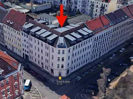 ***Schöne 2 ZKB Dachgeschosswohnung direkt am Park in Gohlis-Mitte***