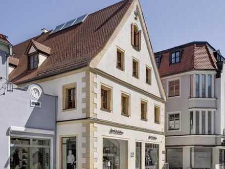 Repräsentative Ladenfläche mit stilvollem Gewölbe in bester Geschäftslage!