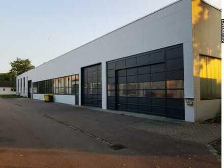 beheizte Halle mit vielfältigen Nutzungsmöglichkeiten in Augsburg-Lechhausen