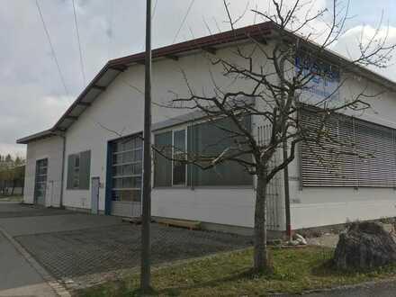 Gewerbeimmobilie mit Halle und Büroeinheit