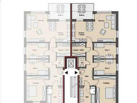 Wohnung 4: mit Aufzug und tollem Blick vom Balkon in der 1. Etage!