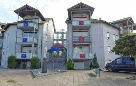 FREIWERDEND! Vier-Zimmerwohnung mit Balkon und TG-Stellplatz in Stutensee-Blankenloch
