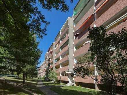 frisch sanierte 1-Raum-Wohnung mit Balkon