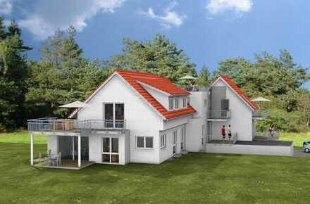 3,5-Zi.-Neubau-ETW im Dachgeschoss eines 5-Fam.-Hauses in KfW 55-Bauweise mit Personenaufzug