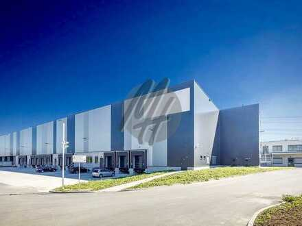 PROVISIONSFREI ✓ LOGISTIK-NEUBAU ✓ 40.000 m² / teilbar ✓ viele Rampen ✓ 12 m Höhe ✓