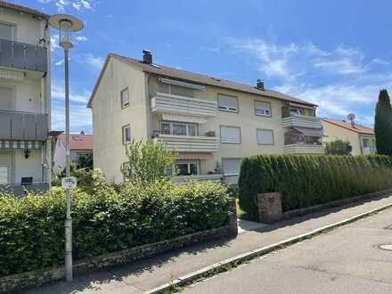 Gut geschnittene 3-Zimmer-Wohnung mit Südbalkon in Leutkirch im Allgäu!