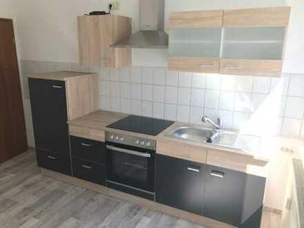 Werdau-Zentrum, 2-Zi.-Whg. mit Einbauküche und Stellplatz