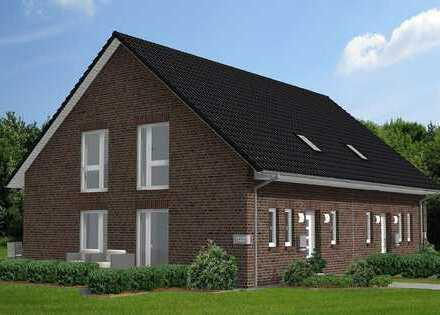 Schöne Doppelhaushälften mit vier Zimmern in Himmelpforten