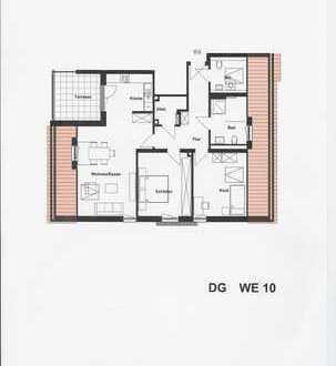 Schöne, helle 3-Zimmer-Wohnung Neubau-Erstbezug