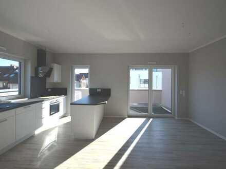 Oben ist es halt doch schöner - Penthouse Wohnung - NEUBAU ab 01.07.2020 - 2,5 Zimmer, zentrale Lage