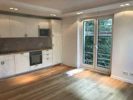 Schöne zwei Zimmer Neubauwohnung im klassischen Stil in Hamburg Harvestehude