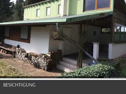 sehr gepflegtes Wochendhaus mit Reitanlage/Stallungen/Pferdekoppel in Steinbach/Saar