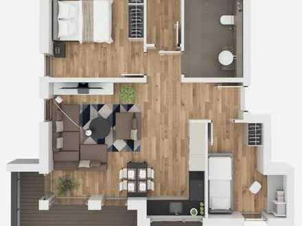 Wohnen mit Ausblick - attraktive 3,5-Zimmer-Wohnung in Wörth am Main