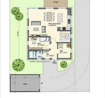 Modernes Einfamilienhaus zu verkaufen / PB-Mastbruch