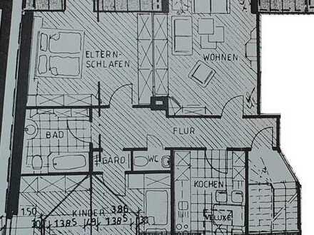 3-Zimmer, Wohnküche, Bad und Gäste WC in zentraler, ruhiger Stadtlage
