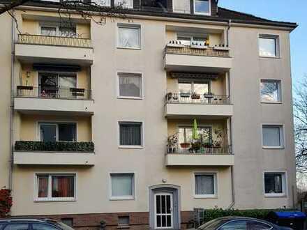 2,5-Zimmer-Wohnung im 2. OG in HH-Heimfeld Uni-Nähe (WG geeignet)