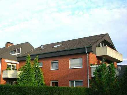 70 qm-Dachgeschosswohnung mit Balkon