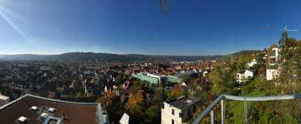 Stadtnahes Penthouse mit sensationeller Panoramasicht am Esslinger Burghang