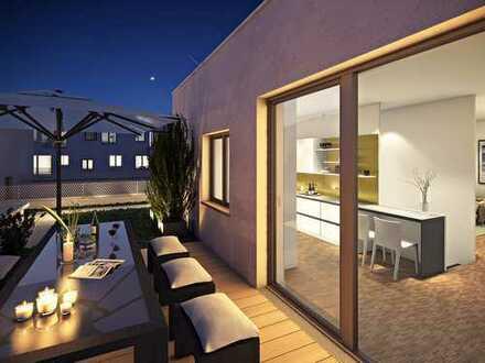 Exclusives Tower-Penthouse auf 2 Etagen mit 27 m² Dachterrasse