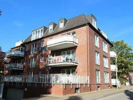 vollständig renovierte 2-Zimmerwohnung mit großem Balkon, Hamburg-Niendorf, Niendorfer Kirchenweg