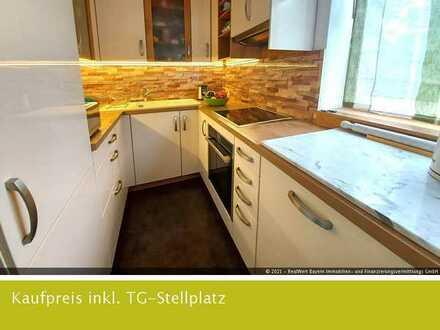 Kapitalanlage oder Selbstbezug - Gepflegte 3-Zimmer Wohnung in ruhiger Lage von München-Freimann