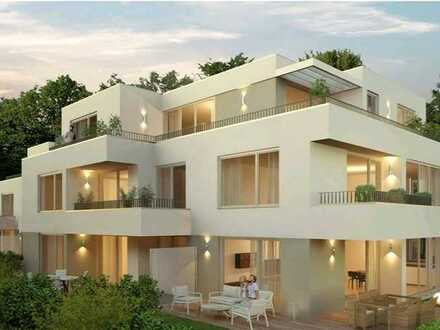 Erstbezug: luxuriöse 3,5-Zi.-EG-Wohnung mit exkl. Einbauküche u. Terrasse in Memmingen