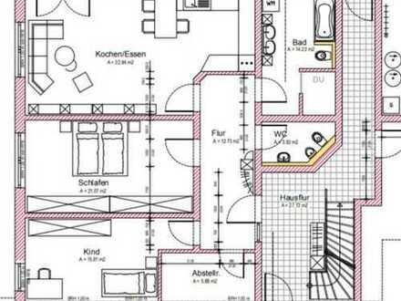 Erstbezug: schöne Erdgeschosswohnung, ca. 105 m² , mit EBK und Terrasse im Grünen