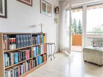 Gepflegte 3-Zimmer-Wohnung mit atemberaubender Aussicht!