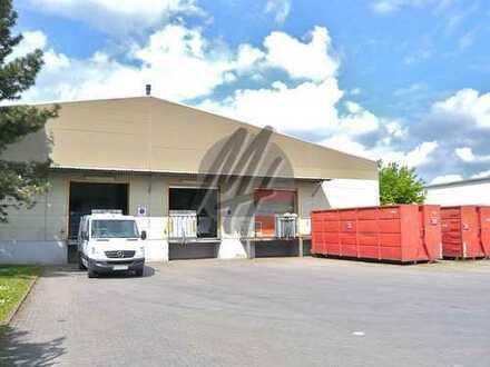 KEINE PROVISION ✓ NÄHE BAB 5 ✓ Lagerflächen (1.950 m²) & optional Büroflächen (150 m²) zu vermieten