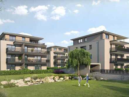 Komfortable, barrierefreie 3-Zimmerwohnung mit 165 m² Privatgarten | Haus A Wohnung 3