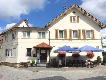 Restaurant / Pension Nähe A 81 aus Altersgründen zu verkaufen