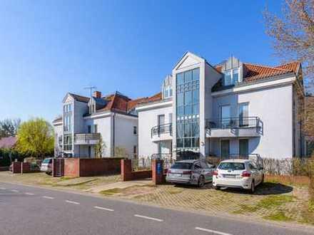 Ruhige 3-Zimmer-Wohnung mit 3 Balkonen im Grünen