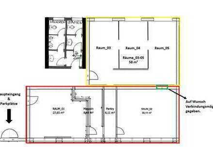 Büro-/Praxisräume Gewerbegebiet Stuhrbaum 58-130 qm
