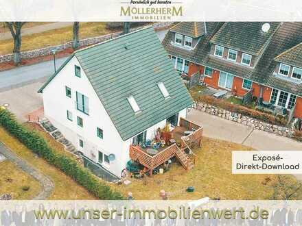 950 m bis zum Strand - vollvermietetes Mehrfamilienhaus an der Ostsee in Groß Schwansee
