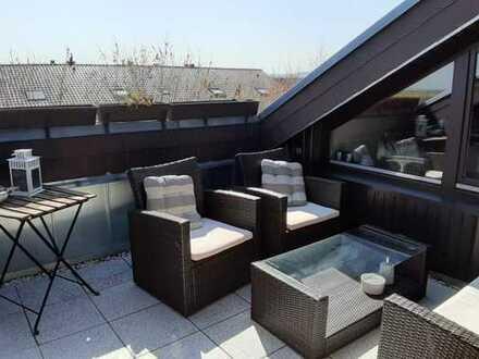 Modernisierte 3-Zimmer-DG-Wohnung mit Balkon und EBK in Bad Bergzabern