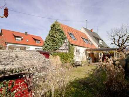 Ein neues Zuhause für Ihre Familie: Baugrundstück mit Altbestand in Eitensheim nahe Ingolstadt