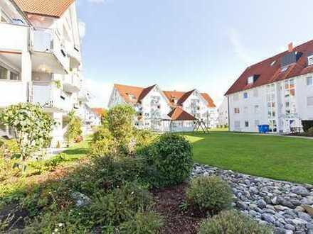 5 % Rendite. Helle 2,5-Zimmer-Maisonettenwohnung mit großer Küche, Balkon, Keller und TG-Stpl.
