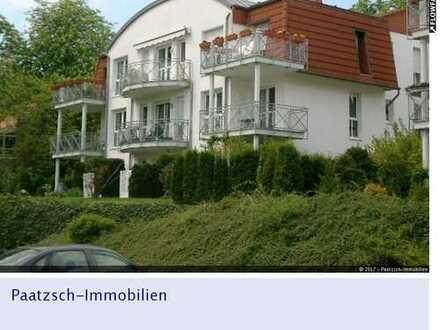 Ruhige 1 Raum DG Wohnung mit Südbalkon in Borsdorf bei Leipzig