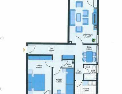 RE/MAX Germering Große und helle 3 Zimmerwohnung mit 2 Balkonen.