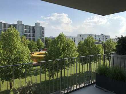 Sonnige Wohnung mit großem Südbalkon in sehr guter und ruhiger Lage