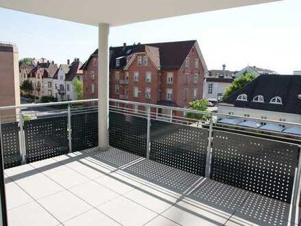 Gepflegte 3-Zimmer-Wohnung mit Balkon in Rastatt nur wenige Gehminuten zur Innenstadt.